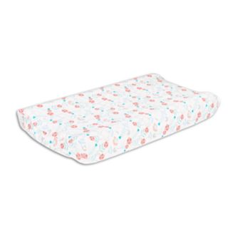 The Peanut Shell Safari Love Changing Pad Cover