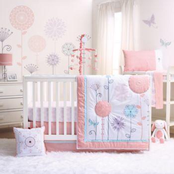 The Peanut Shell Wildflower 3-pc. Crib Bedding Set
