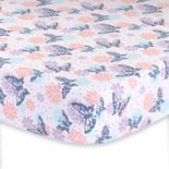 The Peanut Shell Wildflower Fitted Crib Sheet