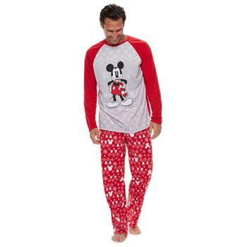 4f22887582 Disney s Mickey Mouse Men s Mickey Sleep Sleep Top   Fairisle Microfleece  Bottoms Pajamas Set by Jammies For Your Families