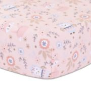 Little Haven Woodland Friends Fitted Crib Sheet