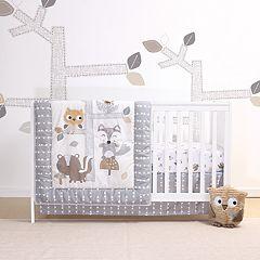 Belle Woodsy 4-pc. Crib Bedding Set