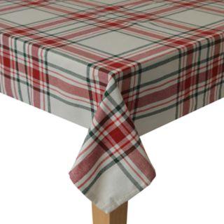 St. Nicholas Square® Farmhouse Plaid Tablecloth