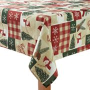 St. Nicholas Square® Snowman Patchwork Tablecloth