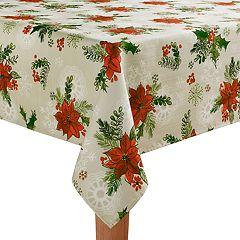 St. Nicholas Square® Botanical Toss Tablecloth