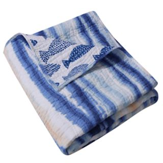 Barefoot Bungalow Crystal Cove Throw