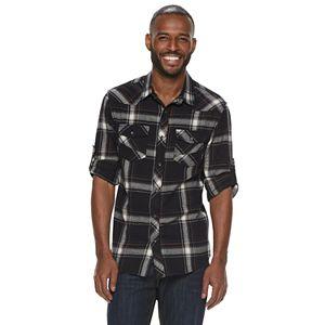 b0b6d3135f7 Men s Levi s Lassen Buffalo Plaid Button-Down Shirt