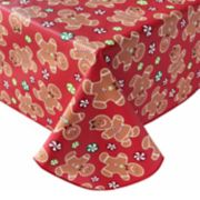 St. Nicholas Square® Gingerbread Vinyl Tablecloth