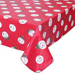 St. Nicholas Square® Snowman Dot Tablecloth