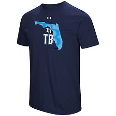 Men's Under Armour Tampa Bay Rays State Tee