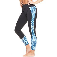 Women's Gaiam Om Print Midrise Yoga Ankle Leggings