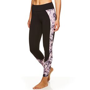 Women's Gaiam Om Print Midrise Yoga Ankle Leggings