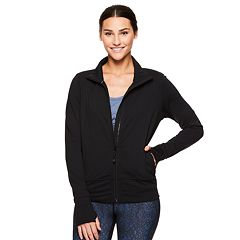 Women's Gaiam Hayden Yoga Cropped Jacket