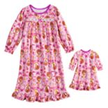 Disney's Fancy Nancy Nightgown & Matching Doll Nightgown