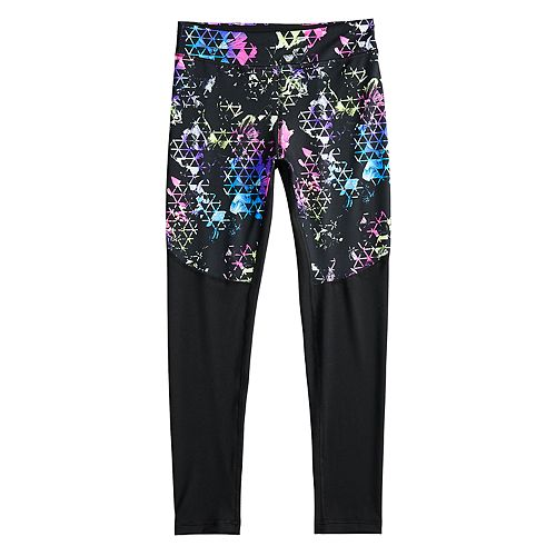 Girls 7-16 SO® Pieced Athleisure Long Leggings