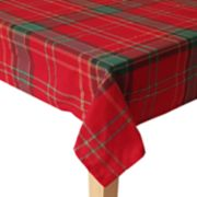 St. Nicholas Square® Formal Plaid Tablecloth