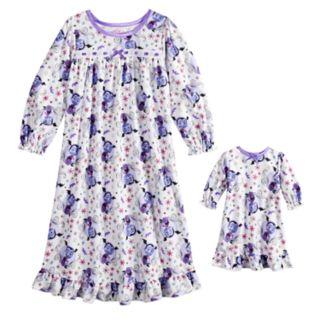 Disney's Vampirina Toddler Girl Nightgown & Doll Nightgown