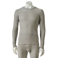 Big & Tall Hanes Ultimate X-Temp Thermal Crewneck Tee