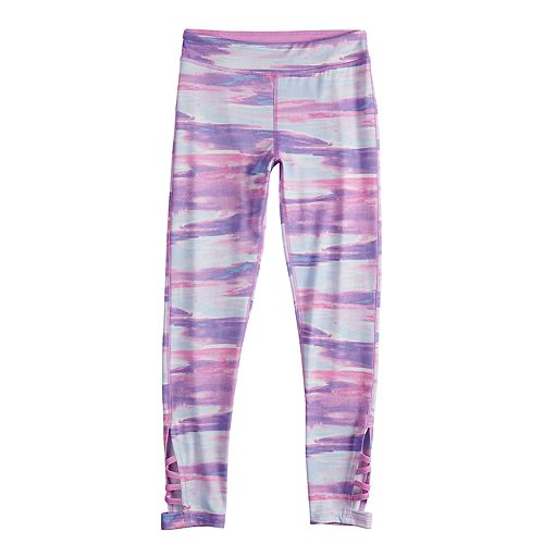Girls 7-16 SO® Strappy Athleisure Leggings