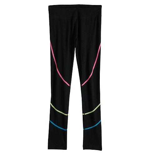 Girls 7-16 SO® Striped Full Length Leggings