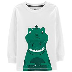 Toddler Boy Carter's Dinosaur Lift Tab Graphic Tee