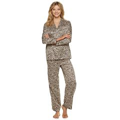 Women's Apt. 9® Satin Top & Pants Pajama Set