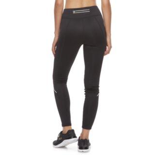 Women's FILA SPORT® Zipper-Pocket Mid-Rise Fleece Leggings