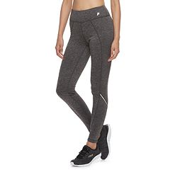 Women's FILA SPORT® Zipper-Pocket Mid-Rise Fleece Leggings