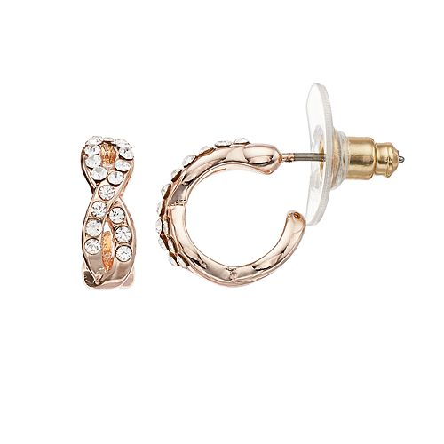 Lc Lauren Conrad Twist Hoop Earrings by Lc Lauren Conrad