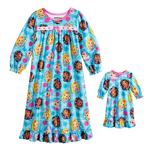 Toddler Girl Sunny Day Nightgown & Doll Nightgown