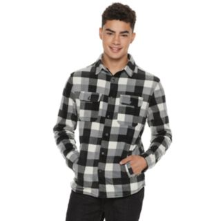 Men's Urban Pipeline? Sherpa-Lined Fleece Button-Down Shirt