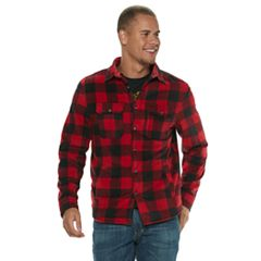 Men's Urban Pipeline™ Sherpa-Lined Fleece Button-Down Shirt