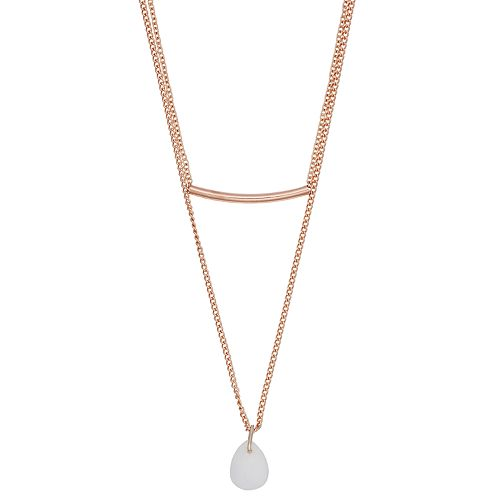LC Lauren Conrad Multi-Layer Pendant Necklace