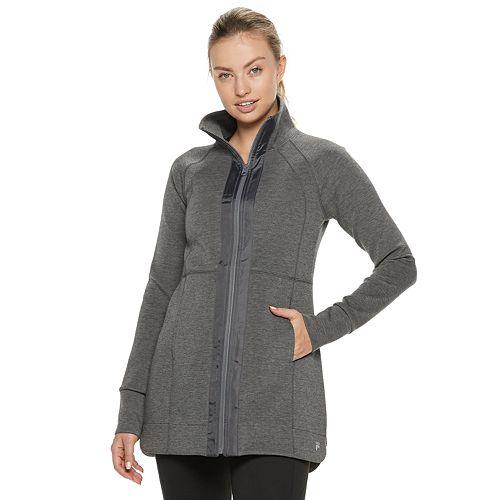 Women's FILA SPORT® Shirred Back Neck Jacket