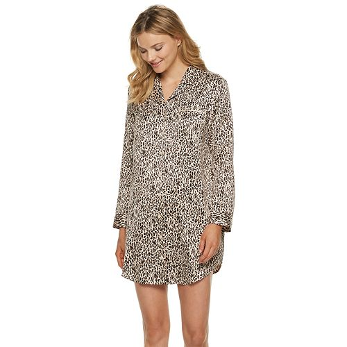 Women's Apt. 9® Satin Sleepshirt