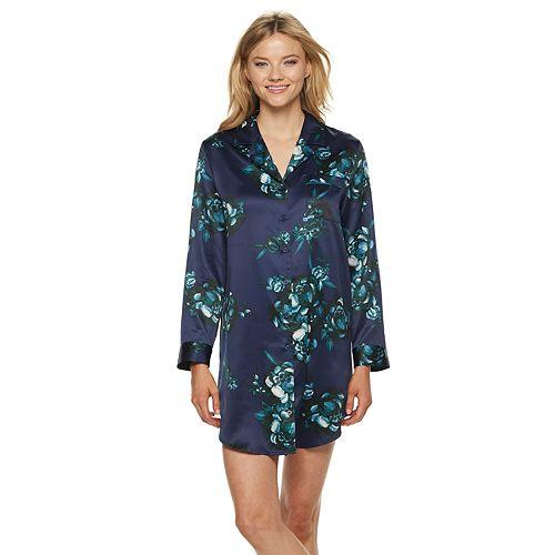Women's Apt. 9® Satin Sleepshirt