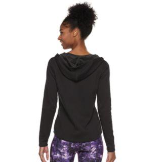 Women's FILA SPORT® Asymmetrical Cowlneck Hoodie