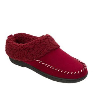Women's Dearfoams Whipstitch Trim Microsuede Clog Slippers