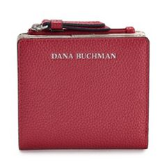 Dana Buchman Pebbled Mini Fold Wallet