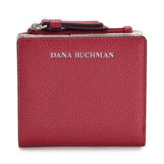 Dana Buchman Pebbled Mini Fold Wallet