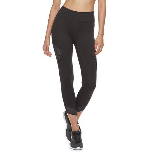 Women's FILA SPORT® Mesh Trim High-Waisted Leggings
