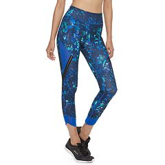 Women's FILA SPORT® Mesh Trim High-Waisted Leggings