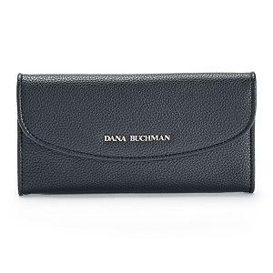 Dana Buchman Rounded Flap Wallet