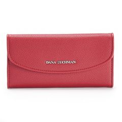 Dana Buchman Rounded Flap Wallet
