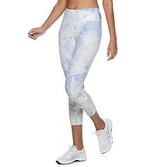 14c78cf8e4d5df Women's FILA SPORT® Printed High-Waisted Capri Leggings