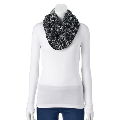 Women's SONOMA Goods for Life™ Cable-Knit Chenille Infinity Scarf