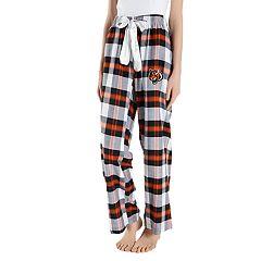 Women's Headway Cincinnati Bengals Flannel Pajama Pants