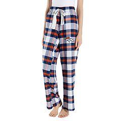 Women's Headway Denver Broncos Flannel Pajama Pants