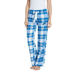 Women's Headway Detroit Lions Flannel Pajama Pants
