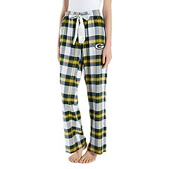 Women's Headway Green Bay Packers Flannel Pajama Pants